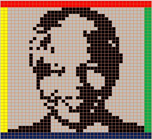 BIGGEST CHALLENGE YET: Knitters throughout the country will join together to create the largest portrait blanket in the world depicting the face of Nelson Mandela Picture: SUPPLIED