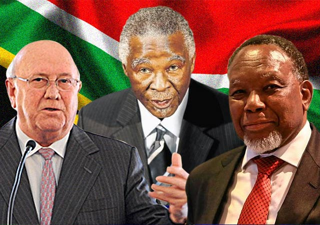 3 former South African leaders join to criticize Zuma