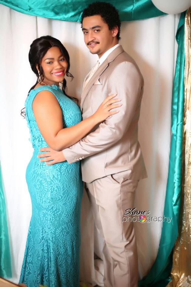 DASHING COUPLE: Danielle Anthony and Sean Smith attended the Kingsridge High School matric dance recently. They looked stunning and had loads of fun at the event Picture: SHANE'S PHOTOGRAPHY/SHANE CHRISTIAN